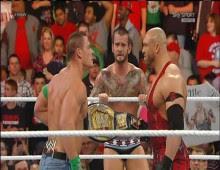 مصارعة WWE Raw 12/11/2012