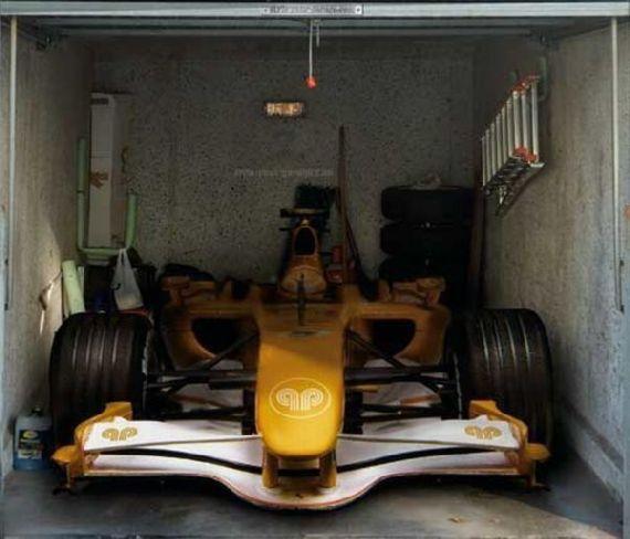 O que cabe em uma garagem?