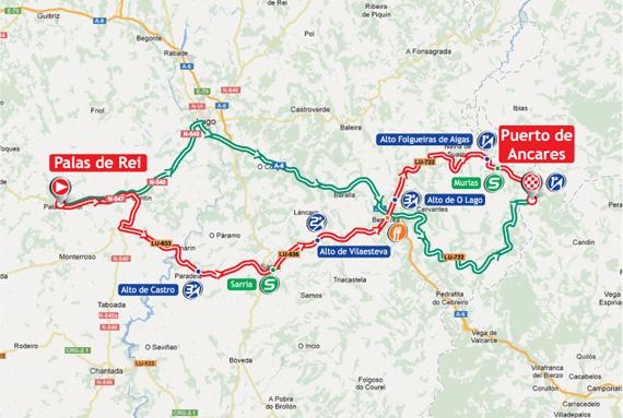 La Vuelta 2012. Etapa 14. Palas de Rei – Puerto de Ancares. @ Unipublic