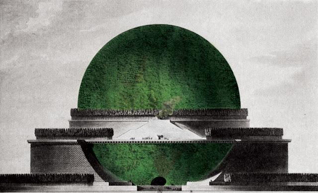 Cenotafio Verde de Boullée