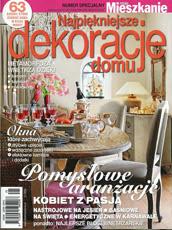 najpiękniejsze dekoracje domu 1/2012