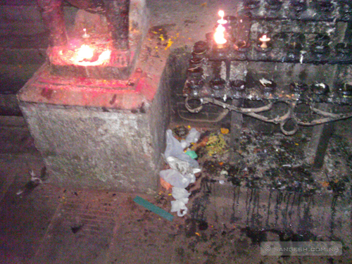 Pollution at Banglamukhi temple