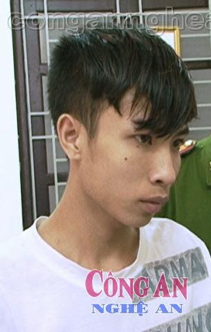 Đối tượng Phan Trọng Hiếu (Sn 1994), trú tại xã Nghi Yên, huyện Nghi Lộc là sinh viên năm thứ 2 khoa Điều dưỡng, trường ĐH Y khoa Vinh
