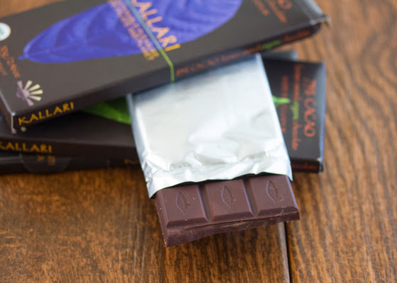 a photo of a Kallari chocolate bar