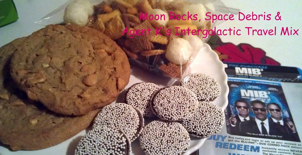 Outer-space themed snacks for our Men In Black 3 family fun night #SeeMIB3