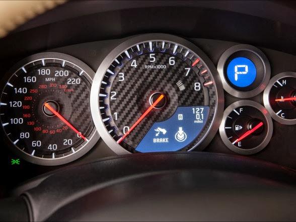 2015 Nissan GT-R - Gauges