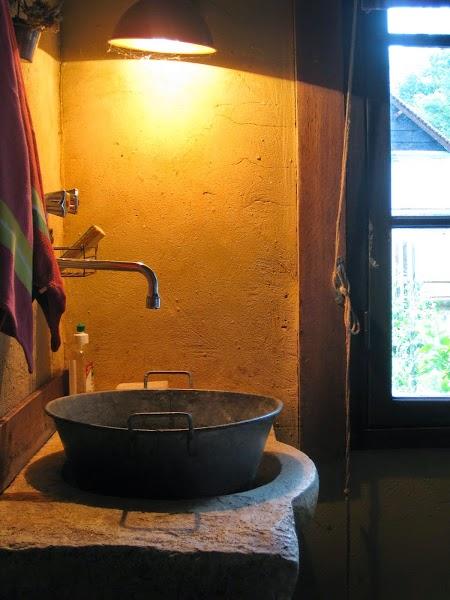 Waschbecken als Stilleben