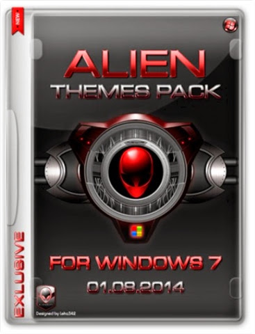 Alien Themes Pack para Windows 7 [01.08.2014] [MULTI]