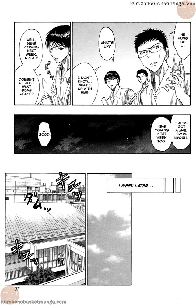 Kuroko no Basket Manga Chapter 54 - Image 09