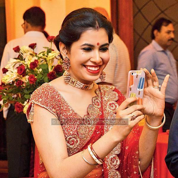 Neetu during Disha-Anuj Puri's wedding, held in Bhopal