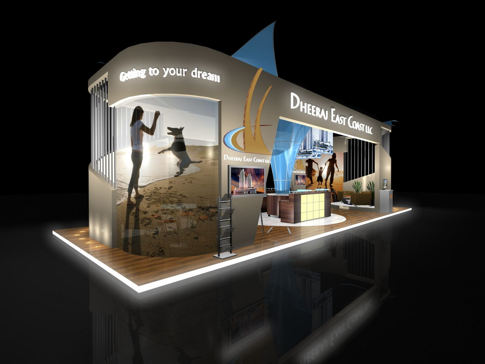 Jewelry Exhibition Booth Design : The first ferry exhibitions dheeraj east cost