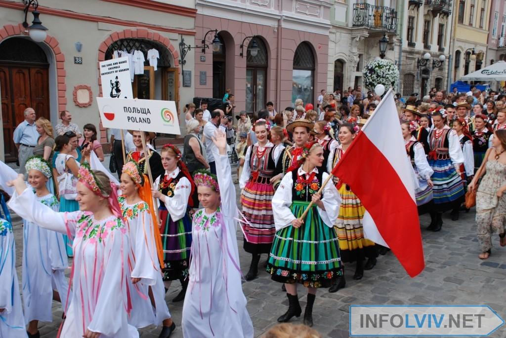 V Міжнародний фестиваль фольклору у Львові «Етновир»
