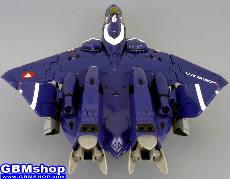 Macross VF-X2 VF-22 VF-X Ravens Sturmvogel II Fighter Mode with Fast Pack