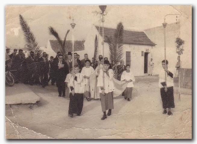 Procesión de Palmas años 50