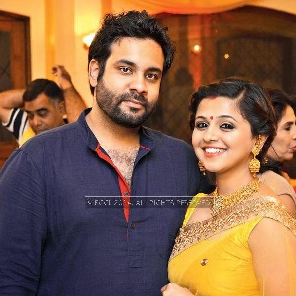 Dhruv and Sania Sahai during Disha-Anuj Puri's wedding, held in Bhopal