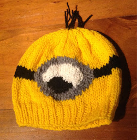Knitting Pattern Minion Hat Free : Despicable Me Minion Hat   Knitting Pattern The Knit Guru