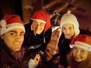 Night Ride FNRide Navidad 2015 mibiciyyo