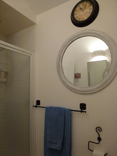 Caux Holiday Home Bathroom with Shower