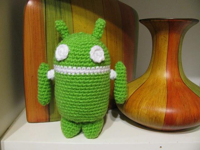 Free Amigurumi Robot Pattern : 2000 Free Amigurumi Patterns: Amigurumi Android Robot