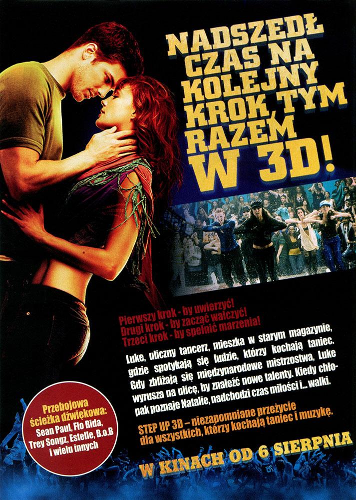 Ulotka filmu 'Step Up 3D (tył)'