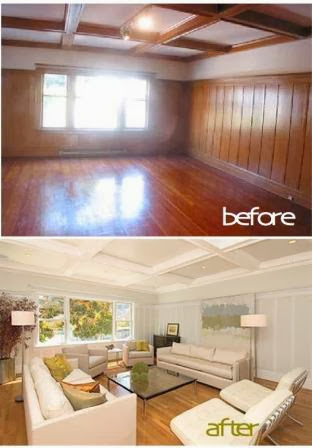 How To Paint Wood Paneling Wall Steps By Steps