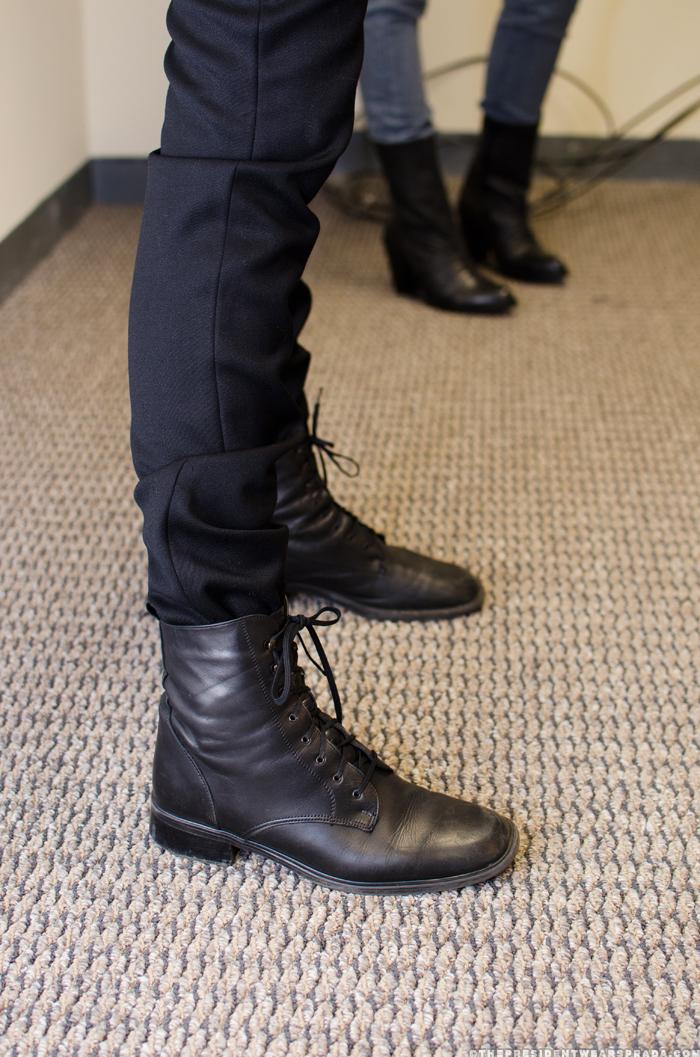 Model Jeremy - shoes detail