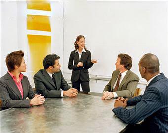 Contacto visual al hablar en público