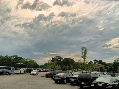 storm,clouds,partly,cloudy,parking,lot,bus