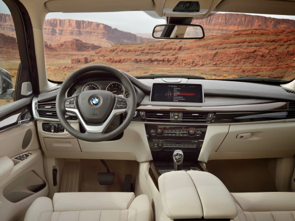 2014 BMW X5 - xDrive50i - Interior