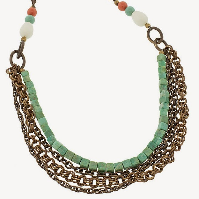 Trail of Turquoise Necklace Project
