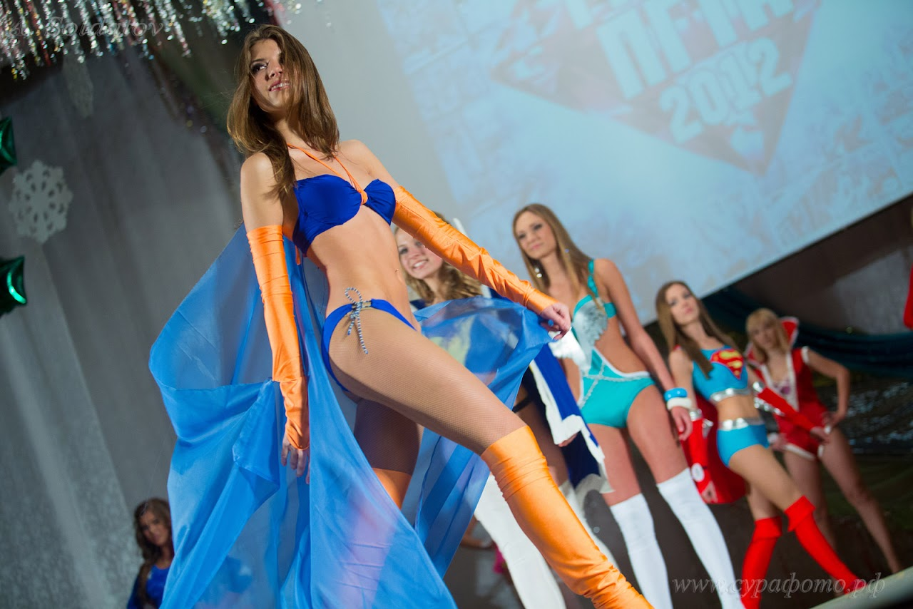 Конкурс красоты Мисс ПГТА-2012. Пенза 26 декабря 2012