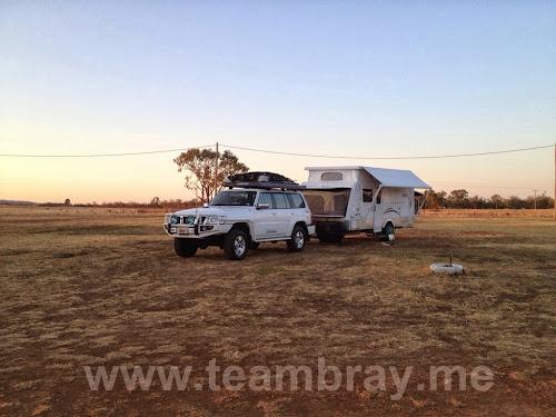 TeamBray at Muckadilla Free Stay