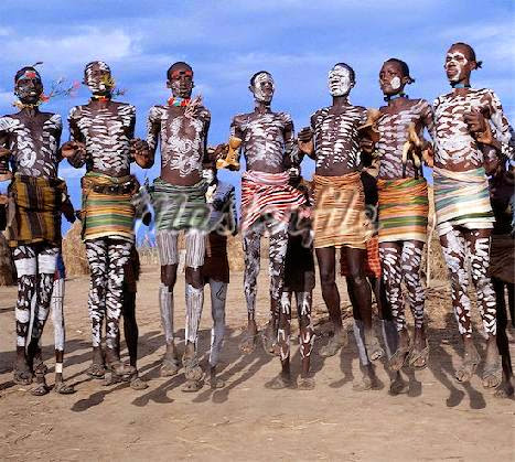Image result for body paintings tribal