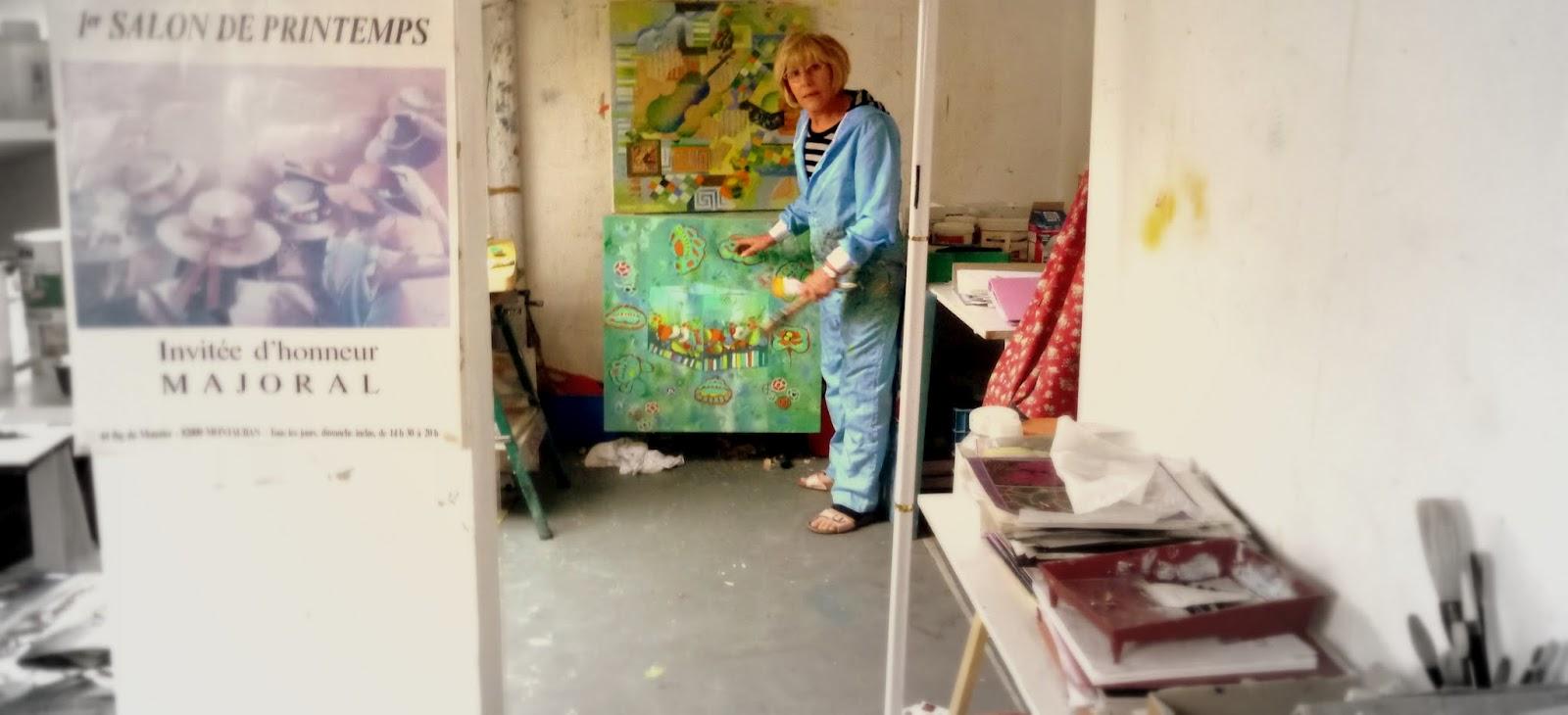 georgette majoral artiste peintre sur toulouse. Black Bedroom Furniture Sets. Home Design Ideas
