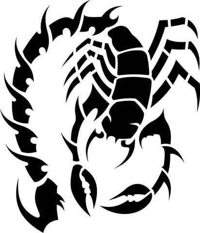 scorpian tattoo designs for girls