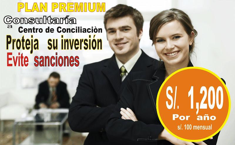 Plan Premium de consultoria a Centros de Conciliación