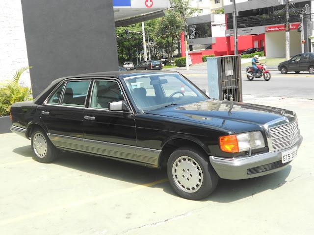 Vendo W126 500SEL- ano - 84 : R$ 30 mil - Troco por MB menor DSCN0075