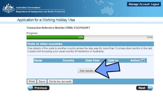 Working Holiday Australia pasaporte italiano