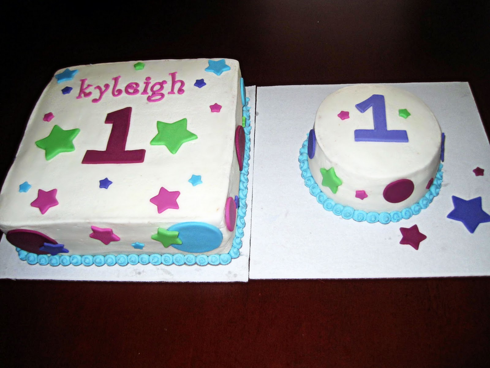 Have A Piece Of Cake 1st Birthday Cake