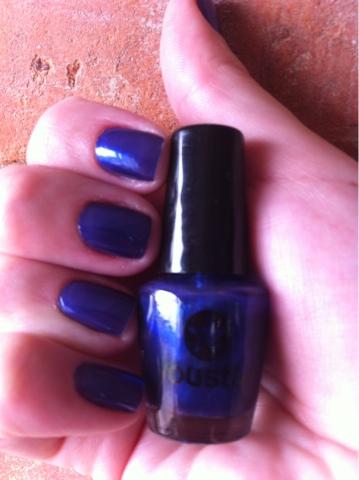esmalte, azul, Youstar