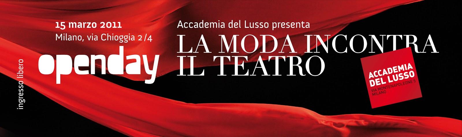 Dotgirl la moda incontra il teatro for Accademia milano moda