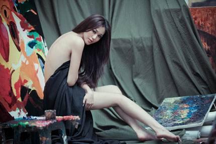 Hoa hau Ao dai hoa than nguoi mau nude IMG2807, girl xinh, gai xinh, gai xinh, anh girl xinh,  Ngắm Khánh My khoe chân dài dáng chuẩn