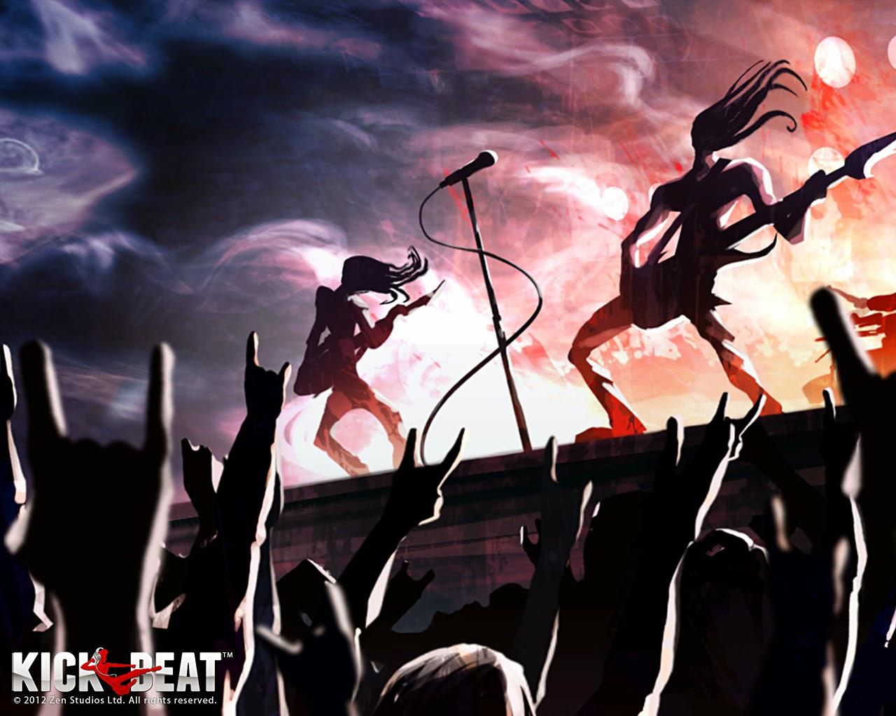 Loạt hình nền tuyệt đẹp của game âm nhạc KickBeat - Ảnh 20