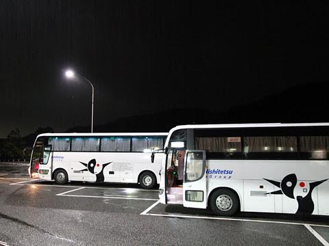 西鉄高速バス「さぬきエクスプレス福岡号」 粒江PAにて