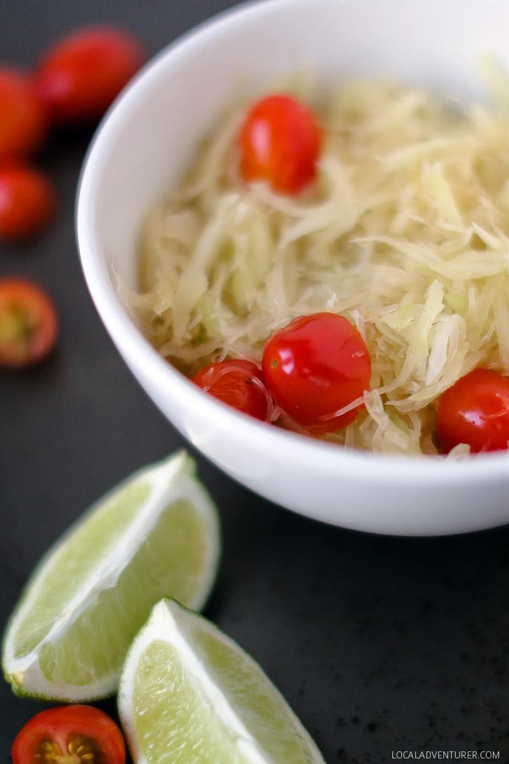 Green Papaya Salad Recipe.