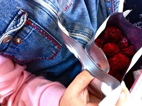 Морожено-сушеные фрукты
