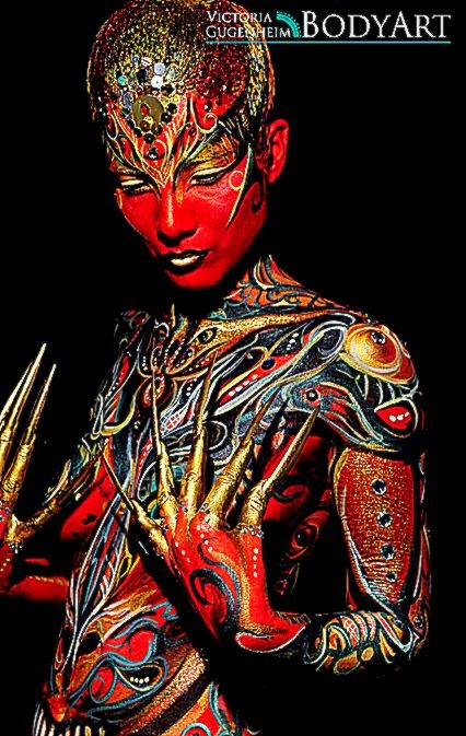 New Fine Art Bodypainting Course 30th 31st May   Victoria