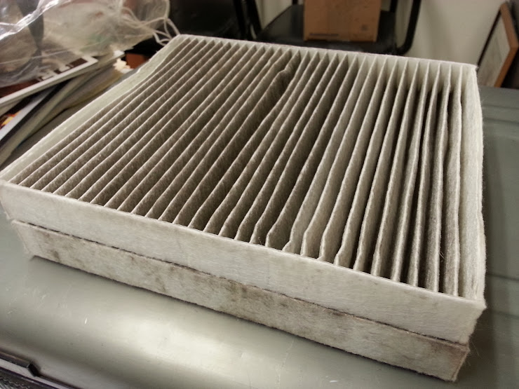 Cabin air filter i say you need one dodge cummins for What size cabin air filter do i need