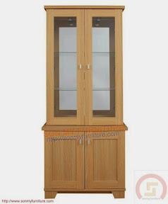 Tủ trưng bày gỗ 010