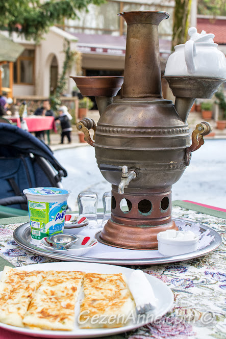 Beykoz korusu kır kahvesindeki semaver ve gözlemeler